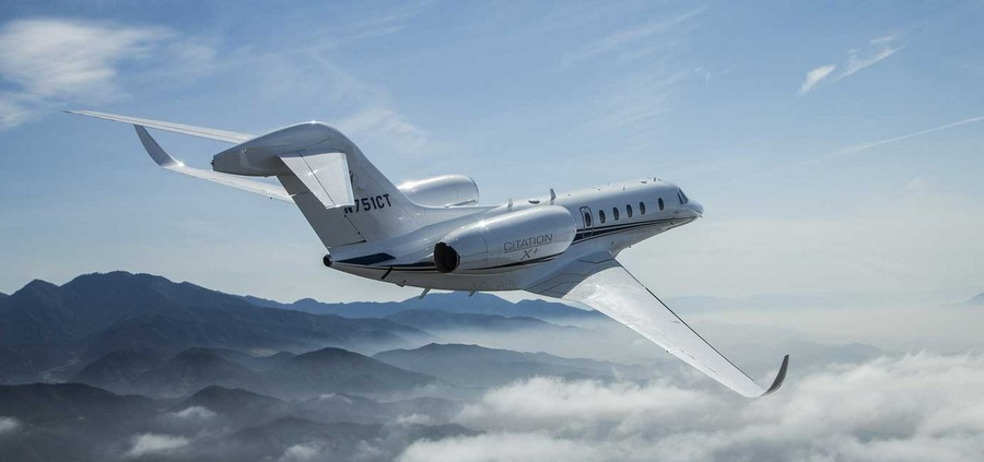 Быстрейший перелет на самолете Cessna Citation X+